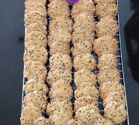 Oatmeal cookies, cookies aux flocons d'avoine
