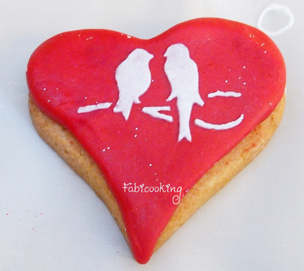 Cookies St Valentin