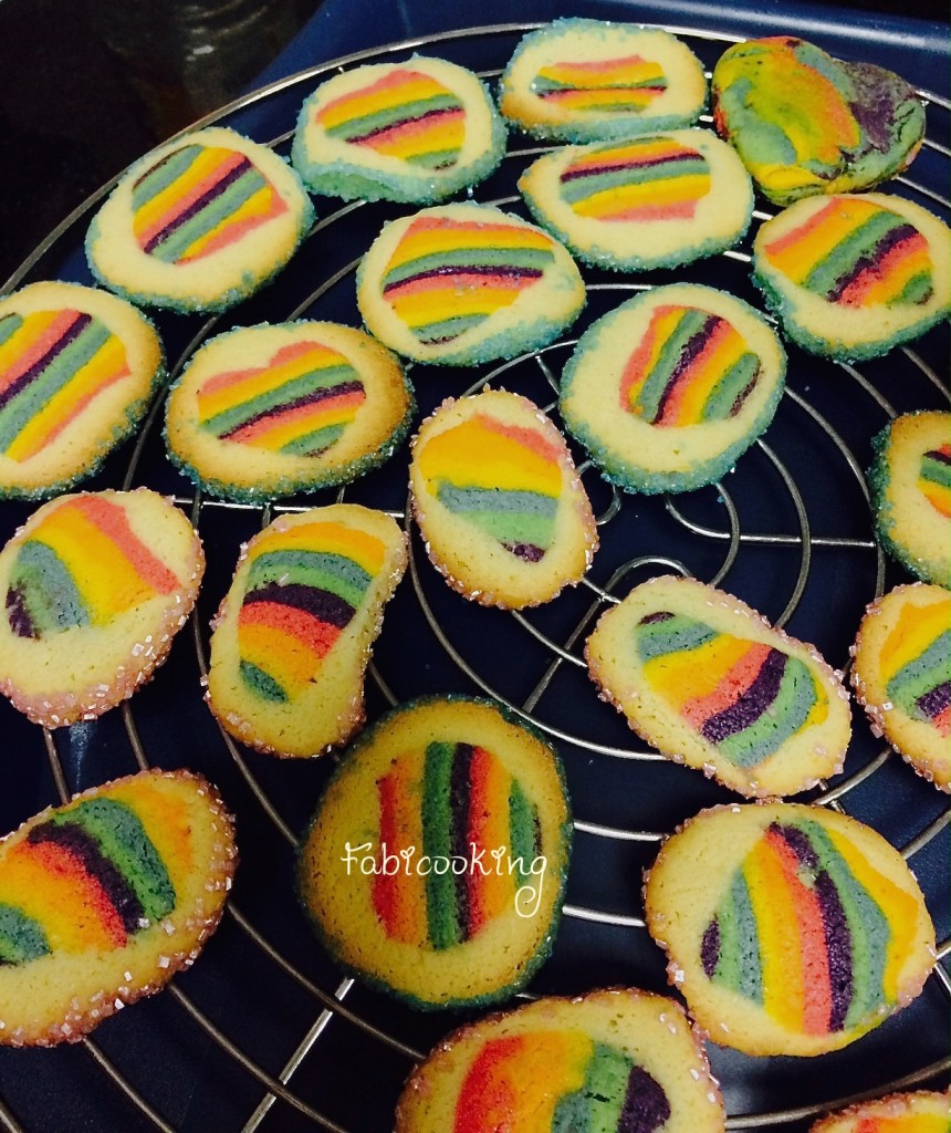 Rainbow cookies 2