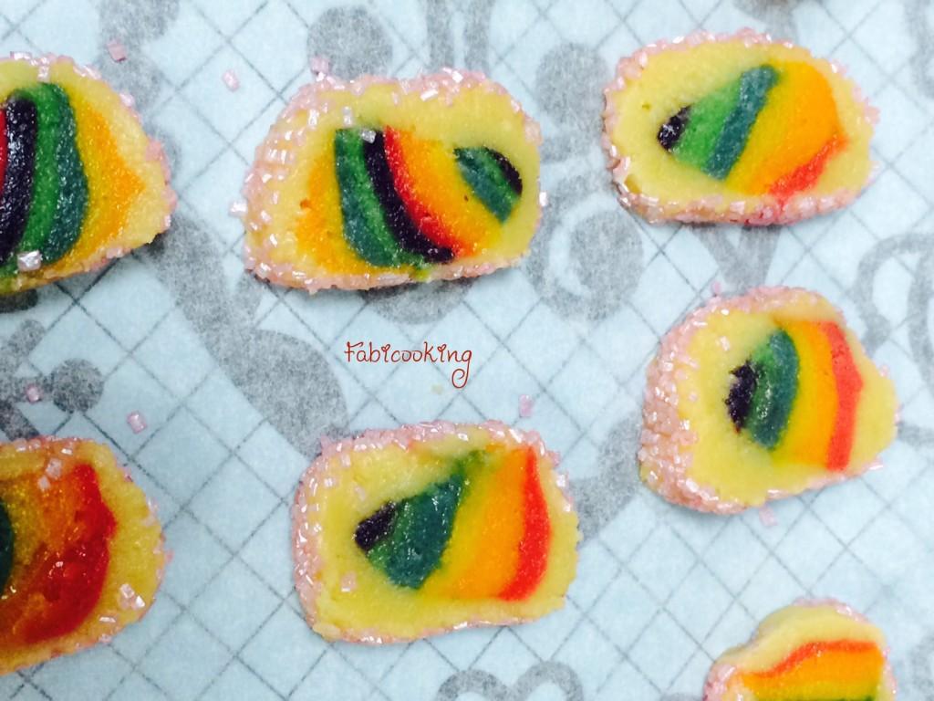 Rainbow cookies 3