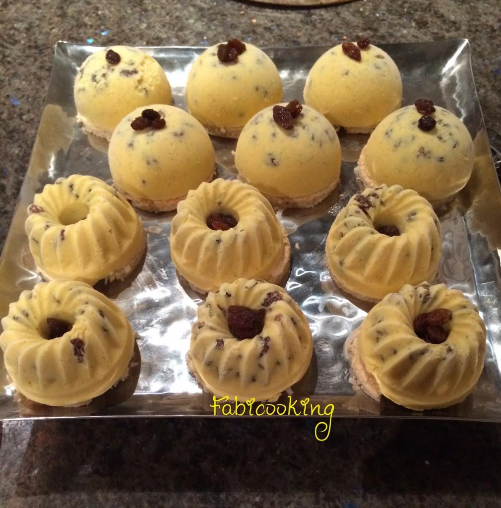 Glace vanille rhum raisin individuelle