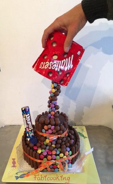 Gravity Cake Chocolat Chaud