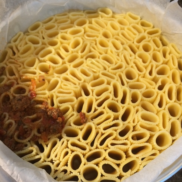 Rigatoni Bolognaise