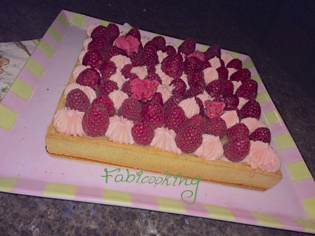 Tarte-framboises-matcha-rose1