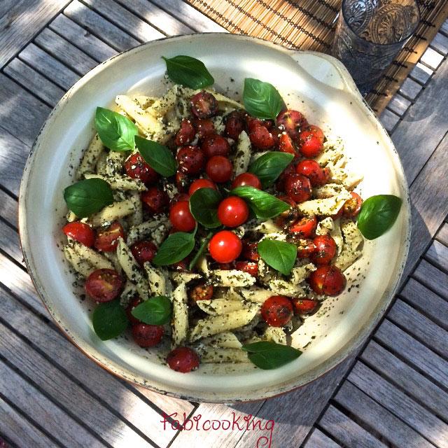 Salade-pates-ricotta