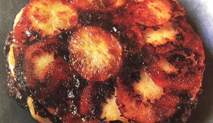 Tatin de pommes de terre aux morilles