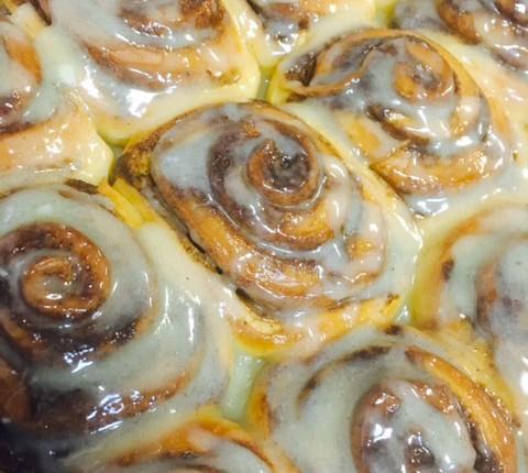 Cinnamon rolls, roulés à la cannelle