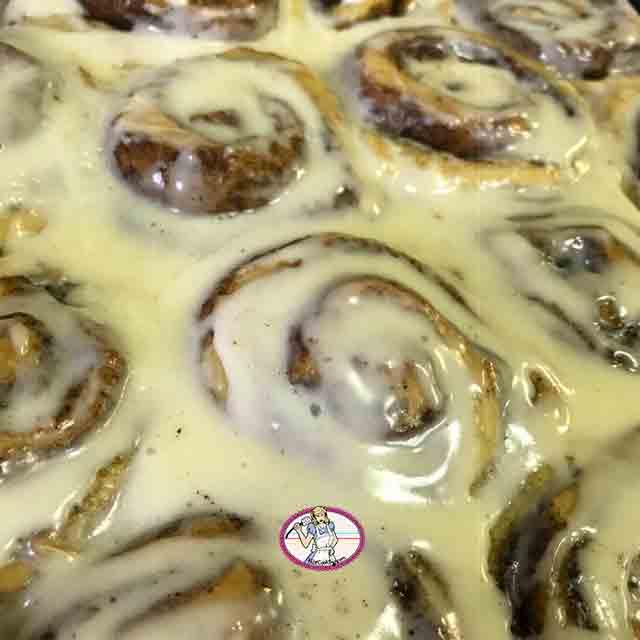 Cinnabon rolls, roulés à la cannelle