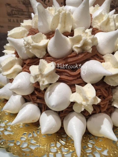 Mont blanc glac fabicooking - Cuire des marrons en conserve ...