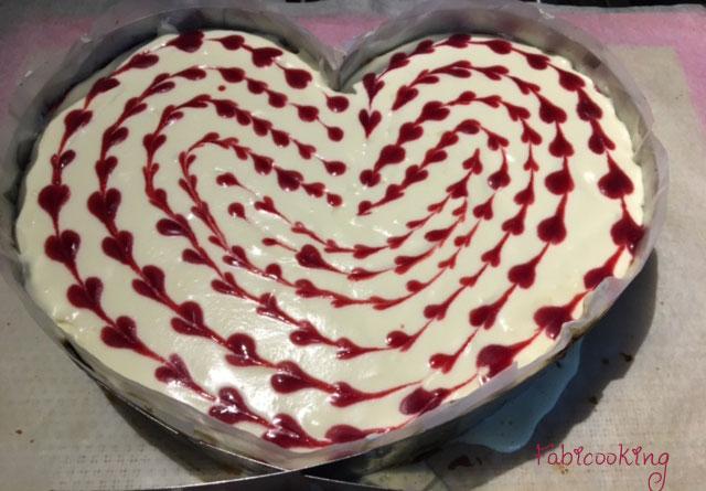 Cheesecake-choclat-blanc-framboises
