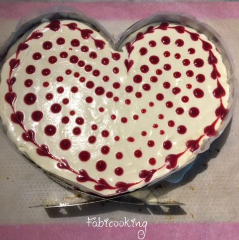 Cheesecake-chocolat-blanc-framboise