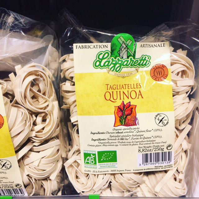 Tagliatelles-quinoa