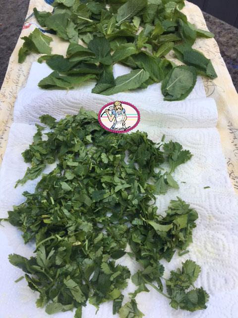 Falafels-herbes