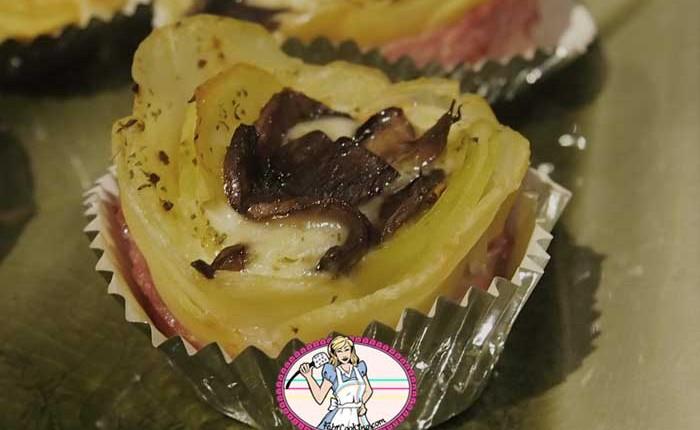Raclette individuelle en fleur