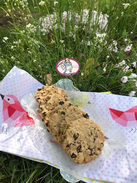 Cookies raisins secs, pecan et flocons d'avoine de Laura Todd's