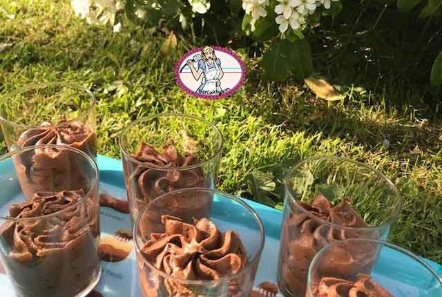 Mousse au chocolat à la pâte à bombe