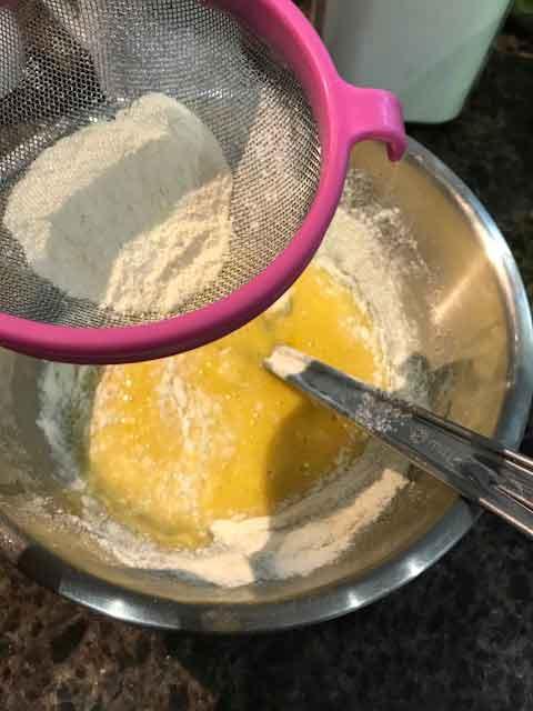 Sponge cake au siphon et micro-ondes