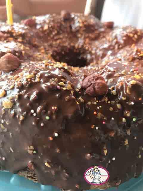 Gâteau marbré chocolat vanille de Cyril Lignac