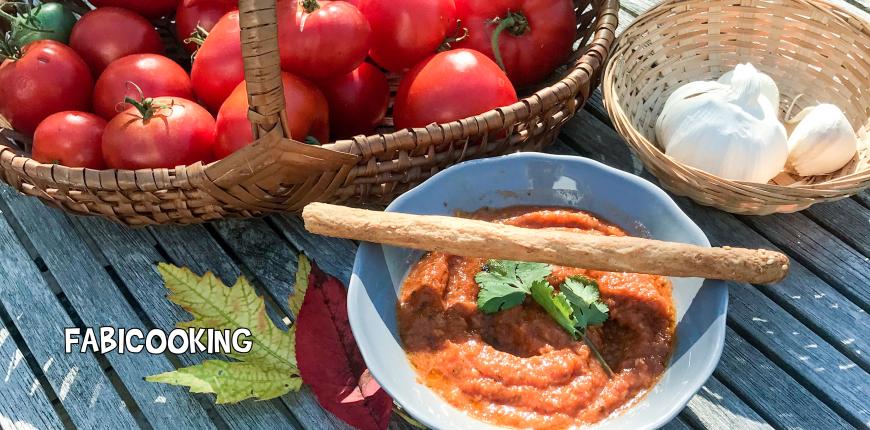 Soupe de tomate et coriandre