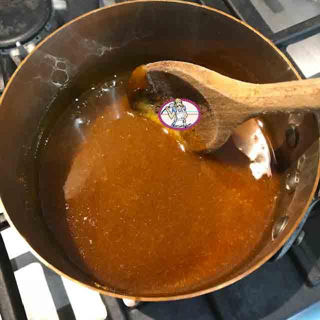 Caramel au beurre salé et à l'huile d'olive