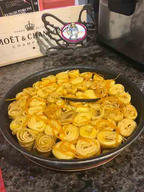 Gâteau de crêpes Suzette
