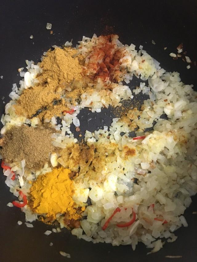 Lentilles végétariennes , Indian Dahl