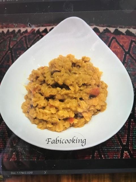 Lentilles végétariennes,   Indian Dahl