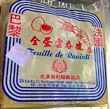 Feuilles de raviolis
