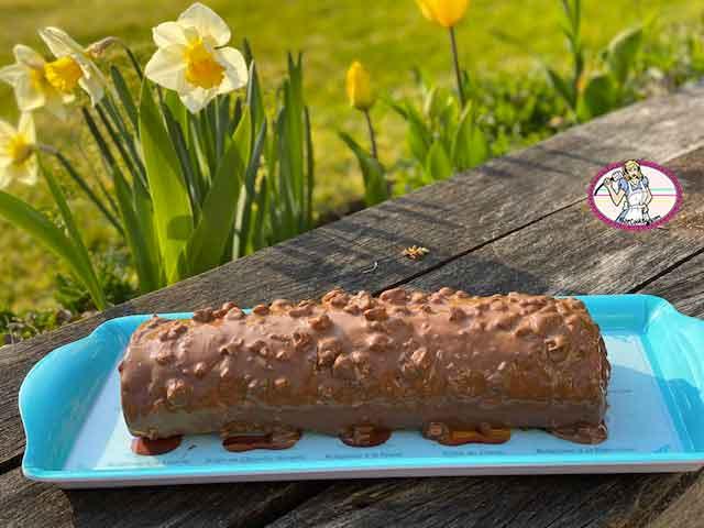 Roulé au chocolat de Cyril Lignac