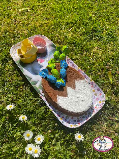Le gâteau au chocolat classique de Frédéric Bau