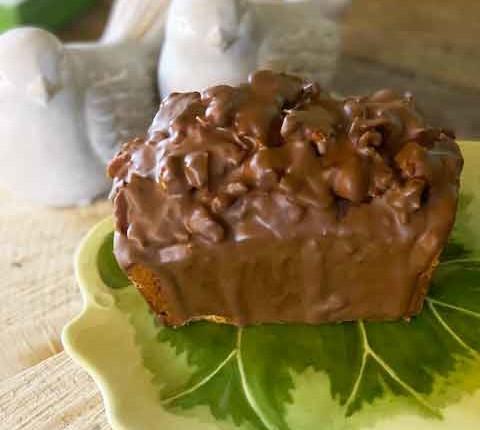 Cake gianduja noisette à la fleur d'oranger de Michalak