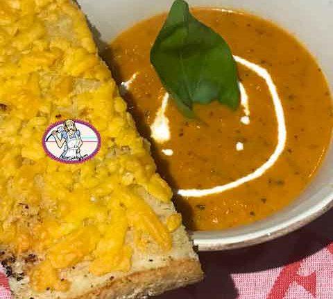 Soupe de tomate ultra rapide