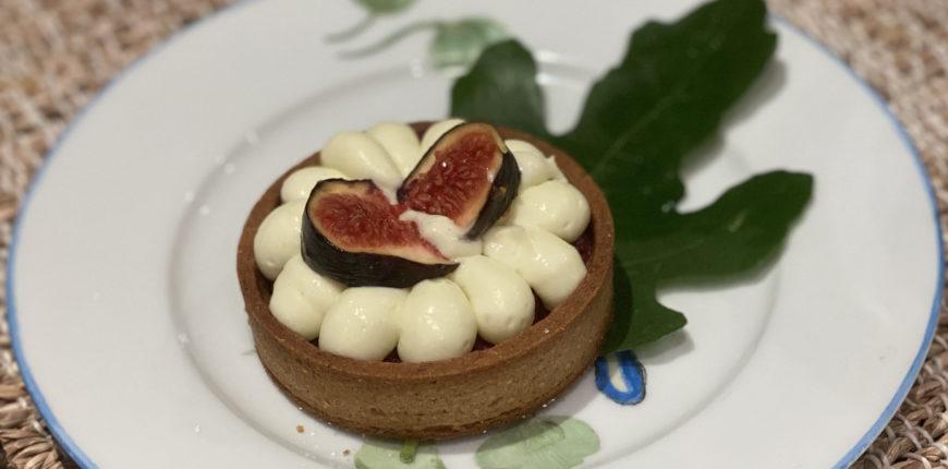 Sublimes tartelettes figue, noisette et farine de seigle