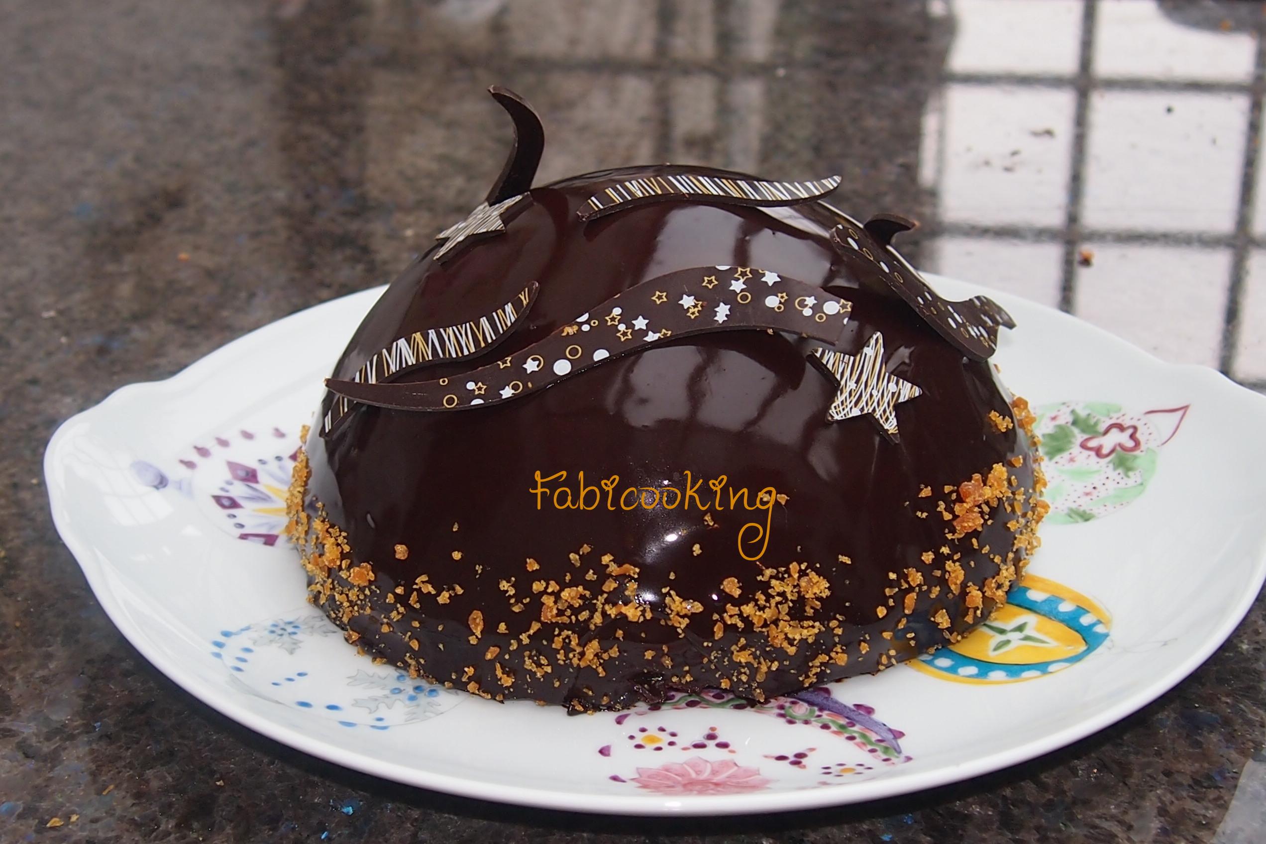 Gateau noel poire chocolat