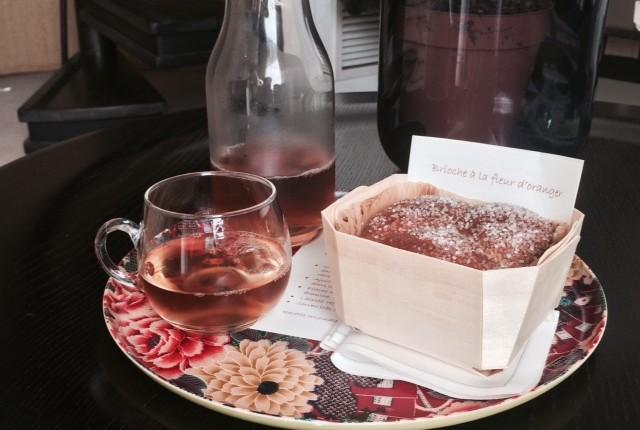 Thé au vinaigre de framboises -Troigros-Roanne
