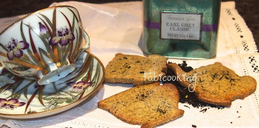 Sablés au thé Earl Grey
