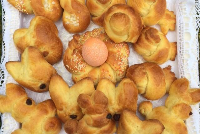 Les Briochettes de Pâques