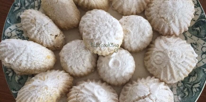Maamoul, petit gâteau de Pâques Libanais aux amandes