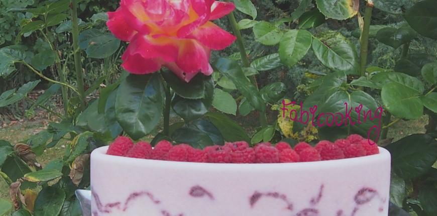 Glace à la rose, lychee et framboise