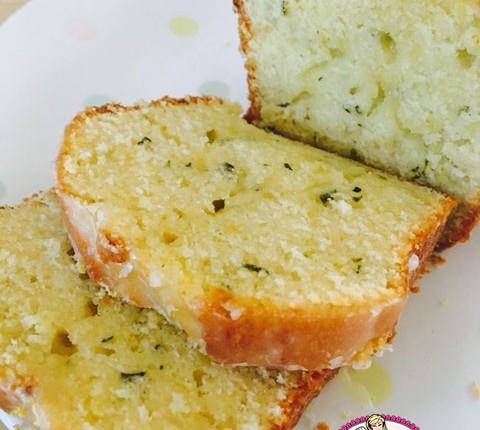 Cake citron à la courgette