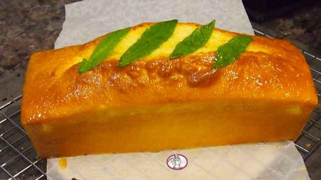 Cake citron et verveine