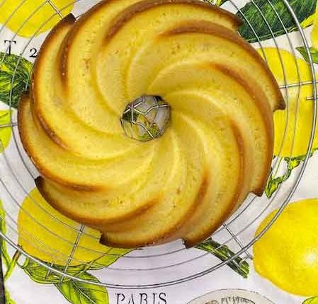 Bundt cake aux agrumes